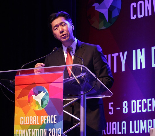 Dr. Hyun Jin Moon, Global Peace Foundation