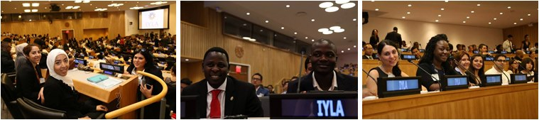 International Young Leaders Assembly at the UN Headquarters, New York