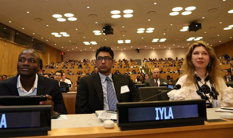 International Young Leaders Assembly participants, United Nations, New York