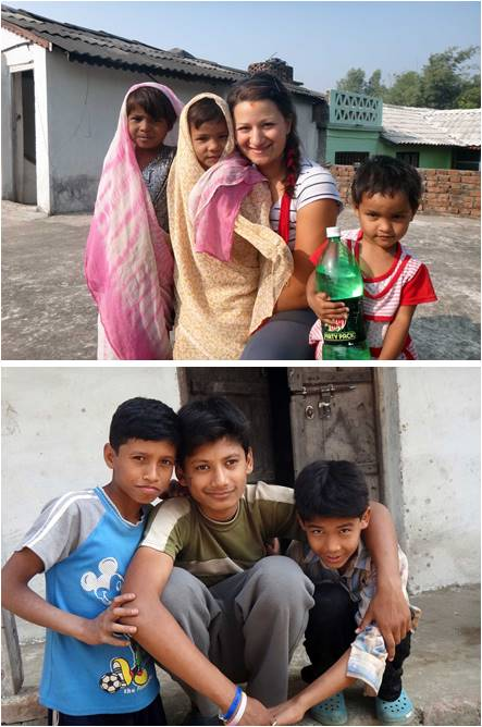 As part of Hanna's volunteer position at the Center she helped secure sponsors at the Nepal Children's Center.