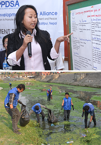 speaker-and-cleanup-nepal-appdsa-combo-photo