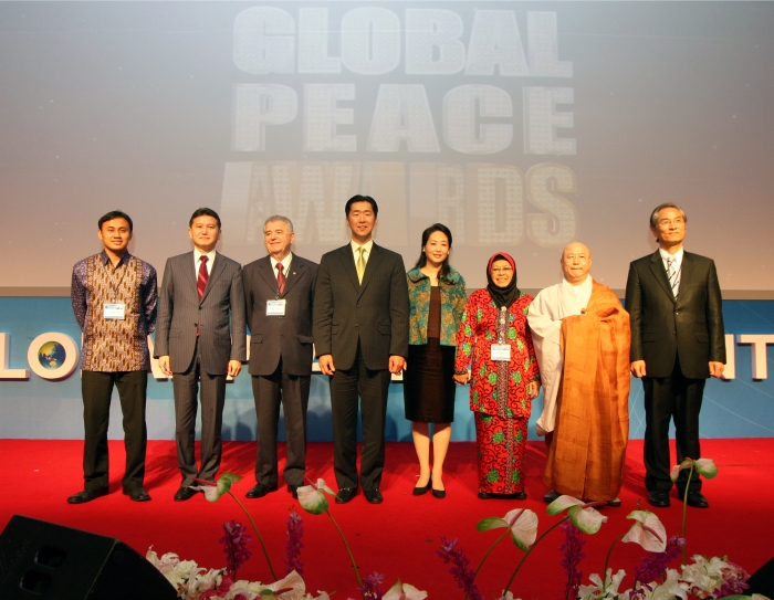 Global Peace Foundation, awards, leader, moral authority