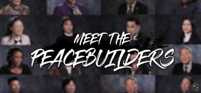 Meet the peacebuilders