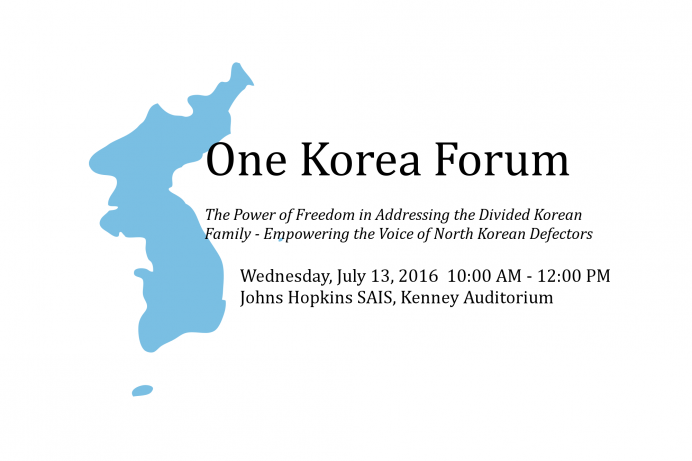 One Korea Forum | Global Peace Foundation
