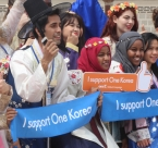 International students promote One Dream for One Korea