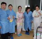 GPW Mongolia visit mothers
