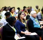 Audience at the Global Peace Women track GPLC