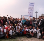 Group photo at Bagmati River Clean Up 2015