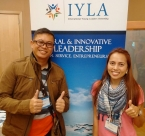 Participants on day one of International Young Leaders Assembly 2015.