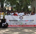 Kenya Interfaith Youth Boot Camp Group Photo