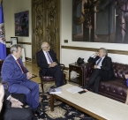 Latin American Presidential Mission executives meet with Esquipulas Foundation