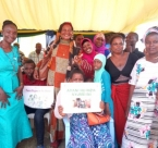 Women in Tanzania for the Peace Begins in the Home campaign