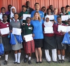 Global Peace Foundation Leap Hubs schools in Nairobi participate in Intel's My Digital Journey.