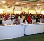 Audience at youth summit in zanzibar for 2015.