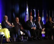 Panelists at Presidential Summit