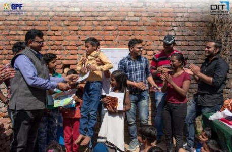 Youth volunteers with Global Peace Foundation (GPF) India enthusiastically give  their time in workshops designed to encourage community bonding