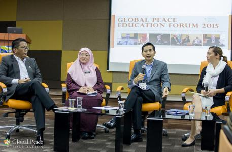 Global Peace Education Forum 2015 in Malaysia