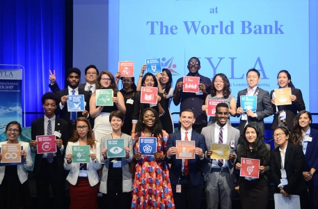 Global Peace Foundation - International Young Leaders Assembly (IYLA) group photo