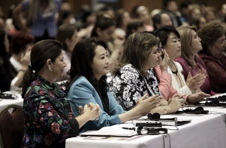 Women leaders at Global Peace Convention 2014