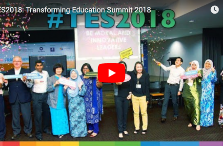 Video Still Image for overview video of the 2018 Transforming Education Summit