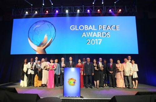 Global Peace Awards 2017 Awardees