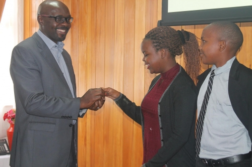 Web Rangers awarded at stakeholders meeting