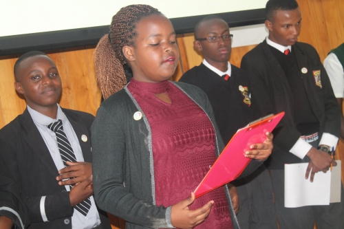 Youth awarded Web Rangers at stakeholders meeting