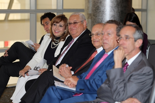 Latin American Presidential Mission audience at the Reagan building