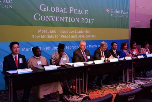 Press Conference: Global Peace Convention 2017