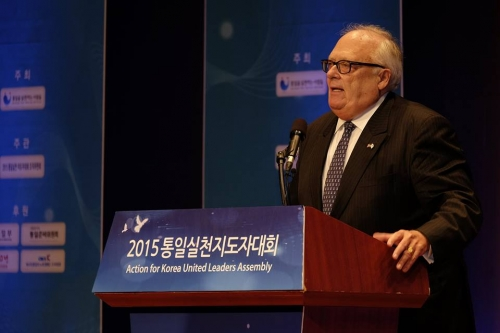 Dr. Ed Feulner, founder of Heritage Foundation, reminds Korean leaders that through civil society, a united Korea should be rooted in the timeless principles and values of the their people.