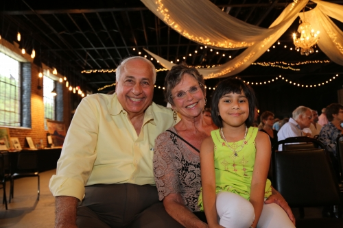 A local Virginia family at Global Peace Foundation benefit for Nepal.
