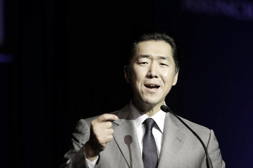 Dr. Hyun Jin Moon, Chairman of the Global Peace Foundation in 2014