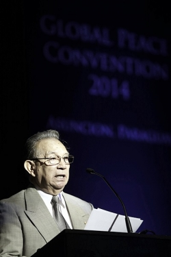 Dr. Jose Altamirano at Global Peace Convention 2014