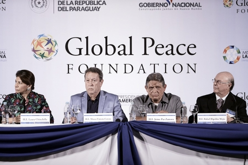 Presidential Panel at Global Peace Convention 2014