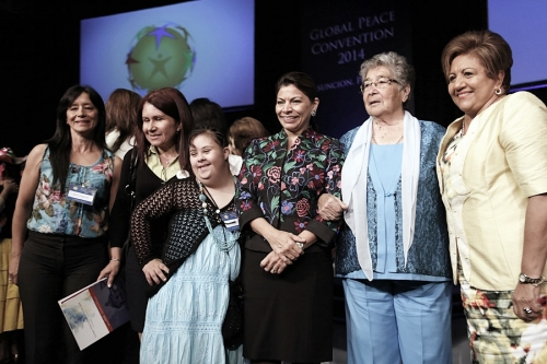 Women's Plenary at Global Peace Convention 2014