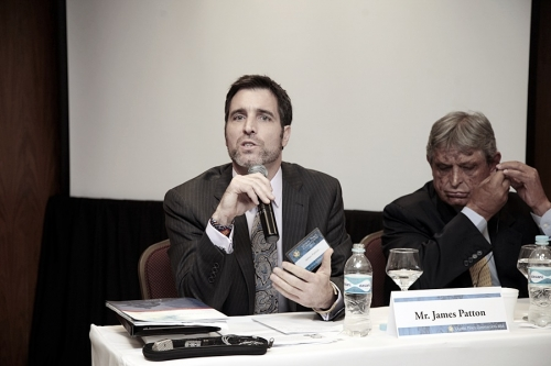 Mr. James Patton at Interfaith Panel during Global Peace Convention 2014