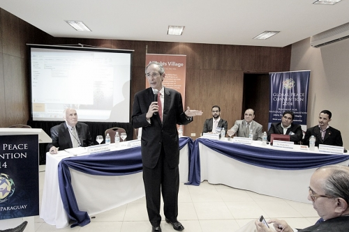 Community Development Session at Global Peace Convention 2014