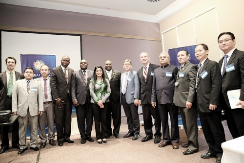 Global Service Alliances at Global Peace Convention 2014
