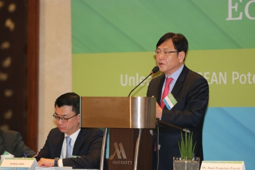 Amb Yongmok Kim: Economic Forum 1