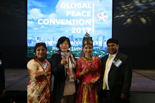 Tourism Board of the Philippines Island Welcome to the Global Peace Convention 2017 1