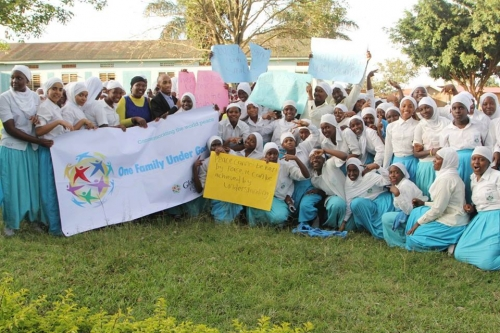 Global Peace Youth Uganda host the International Day of Peace at Mariam High School in Uganda.