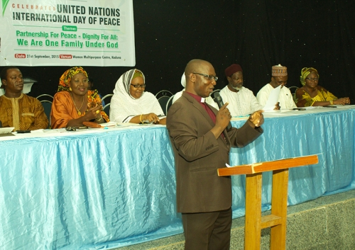 Rev. John Joseph Hayab at International Peace Day Event
