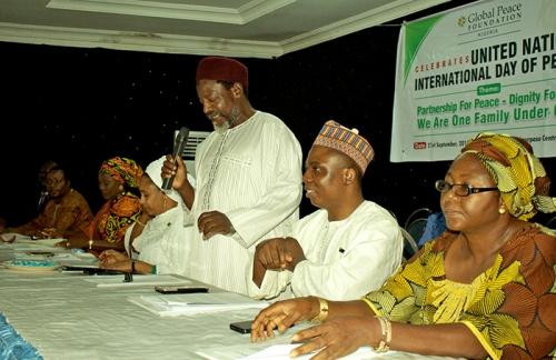 International Day Of Peace Event Panelists in Kaduna, Nigeria