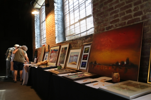 Local artwork donated to Virginia Benefit Program for Nepal relief efforts.