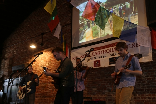 Local performers at VA fundraiser for Nepal relief efforts.