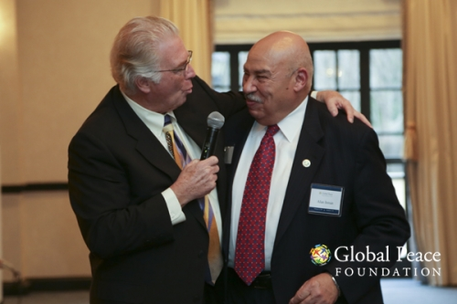 Chris Halverson and Alan Inman Speak at the Event