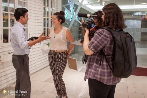 Global Peace Volunteer Gets Interviewed on International Day of Peace