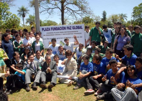 GPF Paraguay Sponsors First Park for the Blind and Visually Impaired