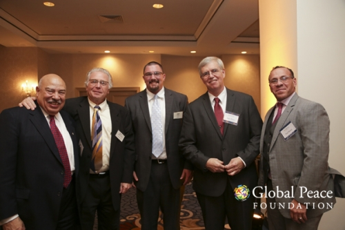 Global Peace Foundation Executives with Chris Halverson and Bret Durban
