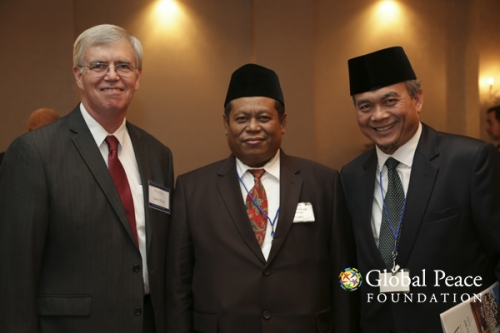 James Flynn, Marsudi Syuhud, and Guest